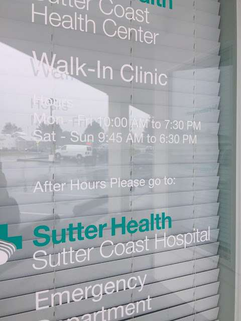 Sutter Coast Walk In Clinic 785 East Washington Boulevard